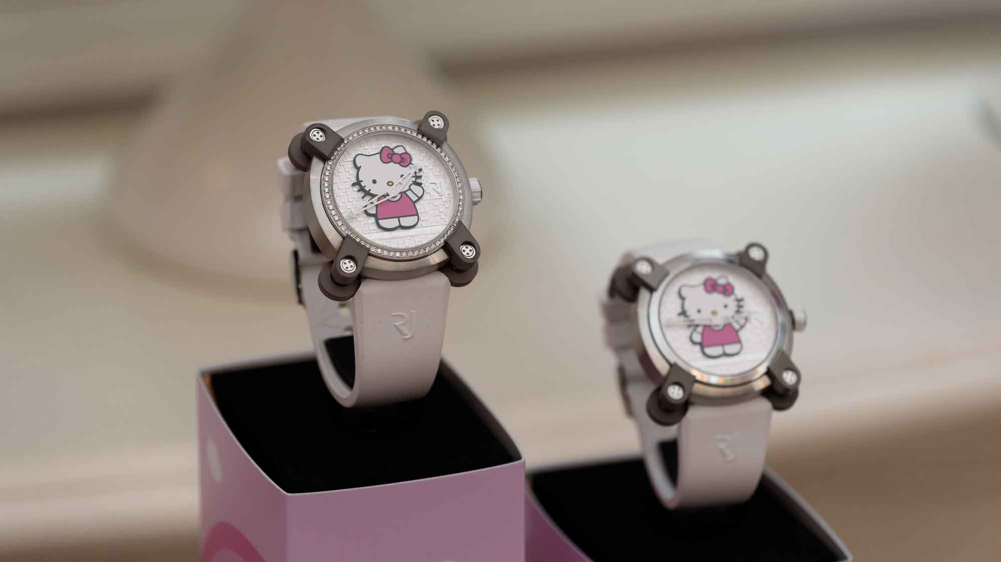 RJ X Hello Kitty with ethereum on BitDials