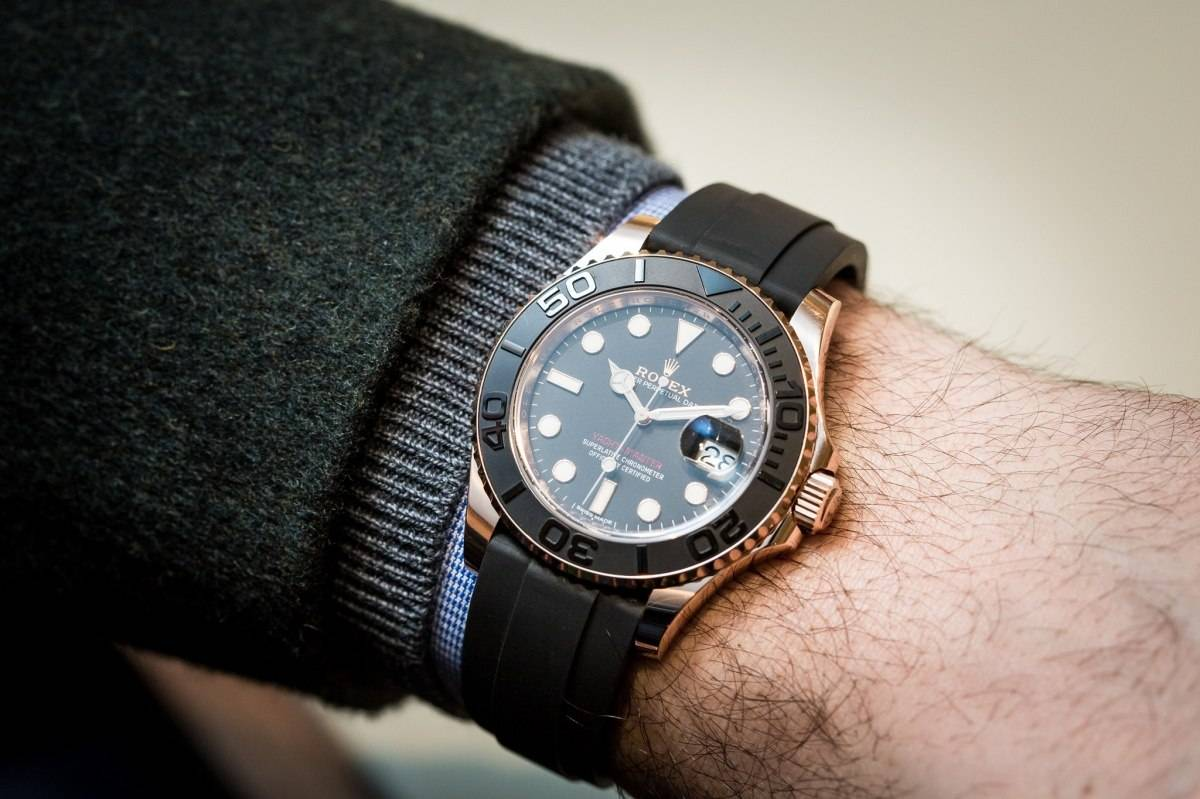 Buy Rolex Yacht-Master with Crypto
