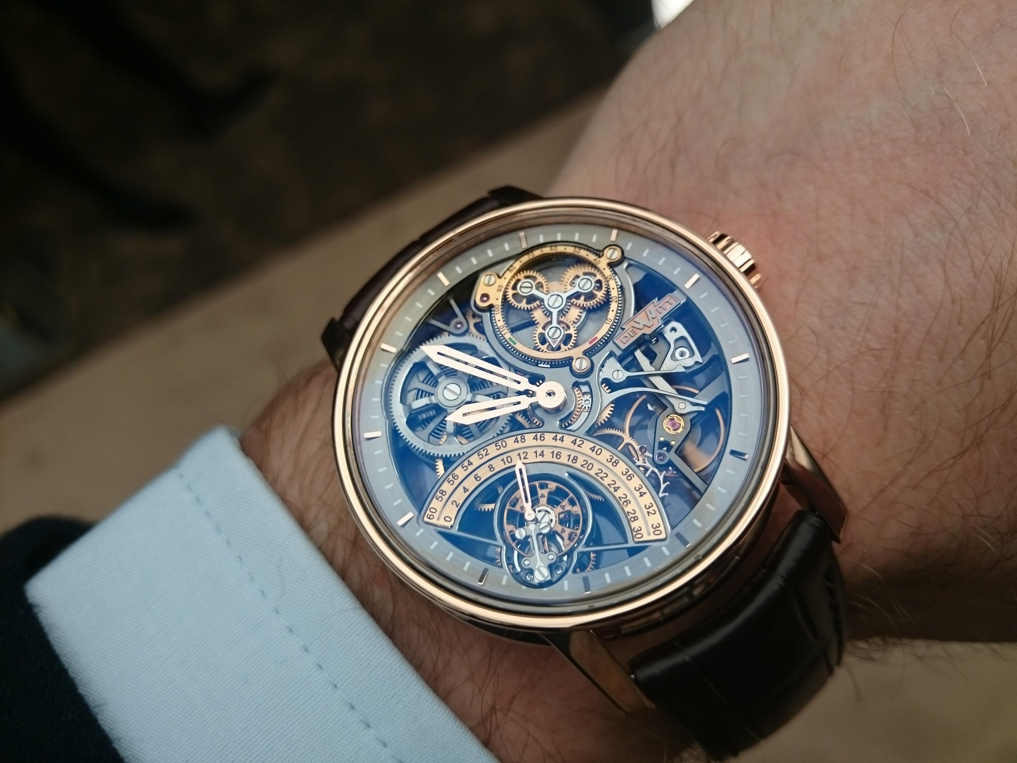 Buy DeWitt watches with Bitcoin on BitDials