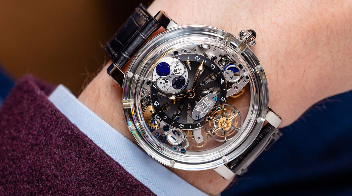 Bovet with Bitcoin on BitDials