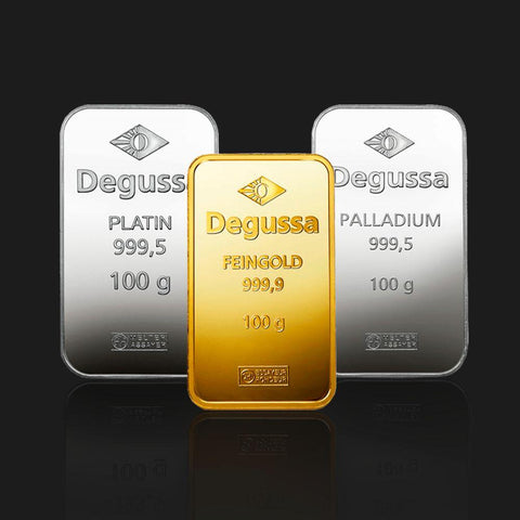 Buy gold, silver, platinum and palladium with crypto! Discreet. Safe.