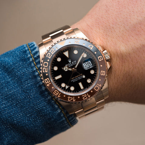 Buy Rolex GMT Master II with Bitcoin on BitDials
