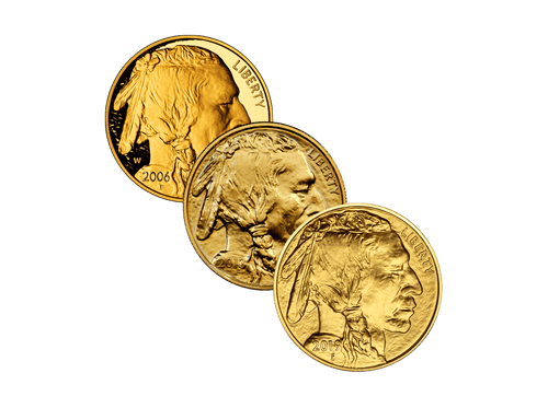 Buy original gold coins 1 oz Gold American Buffalo with Bitcoin!