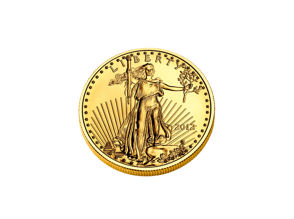 Buy original gold coins 1 oz Gold American Eagle with Bitcoin!
