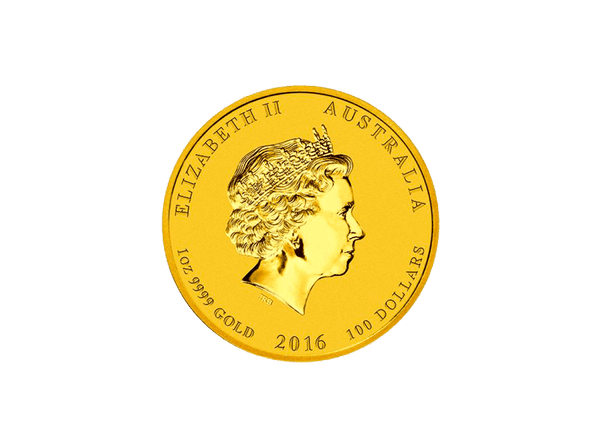 Buy original gold coins 1 oz Gold Lunar Monkey 2016 with Bitcoin!