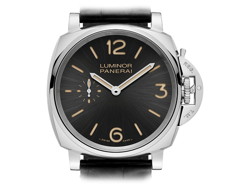 Buy original Panerai LUMINOR DUE 3 DAYS ACCIAIO PAM00676 with Bitcoins at BitDials.eu