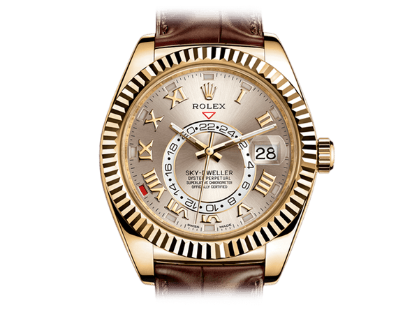 Buy Rolex SKY-DWELLER with Bitcoins on Bitdials