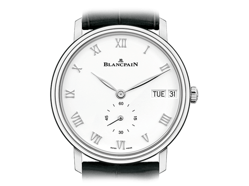 Buy original Blancpain VILLERET JOUR DATE 6652-1127-55B with Bitcoins!