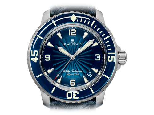 Buy Blancpain FIFTY FATHOMS with Bitcoin on bitdials
