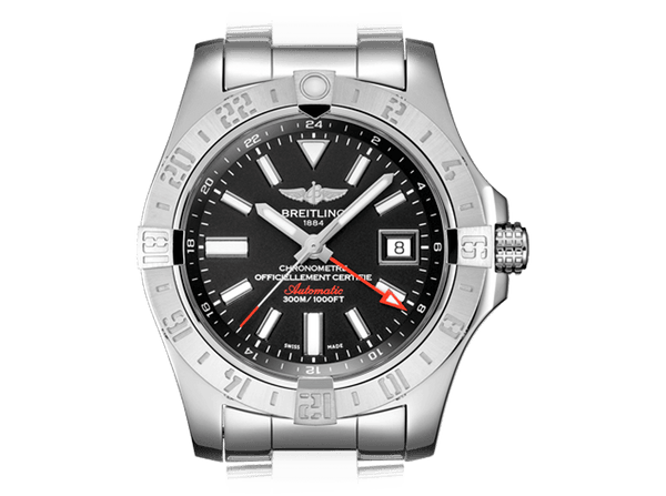 Buy original Breitling AVENGER II GMT A3239011/BC35/170A with Bitcoins!