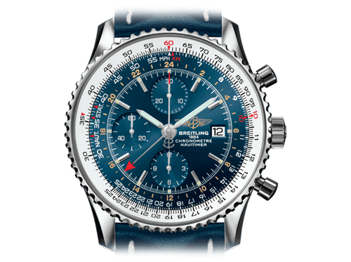 Buy original Breitling NAVITIMER 1 CHRONOGRAPH GMT A2432212/C651/101X/A20BA.1 with Bitcoins!