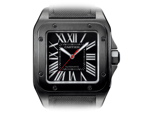 Buy Cartier SANTOS 100 CARBON  with Bitcoin on bitdials