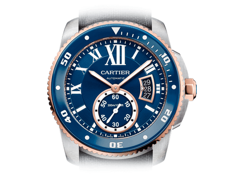 Buy original Cartier CALIBRE DE CARTIER DIVER W2CA0008 with Bitcoins!