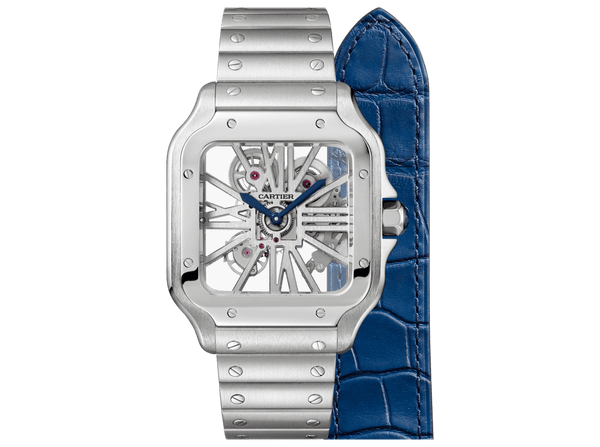 Buy original Cartier SANTOS DE CARTIER  WHSA0007 with Bitcoins!