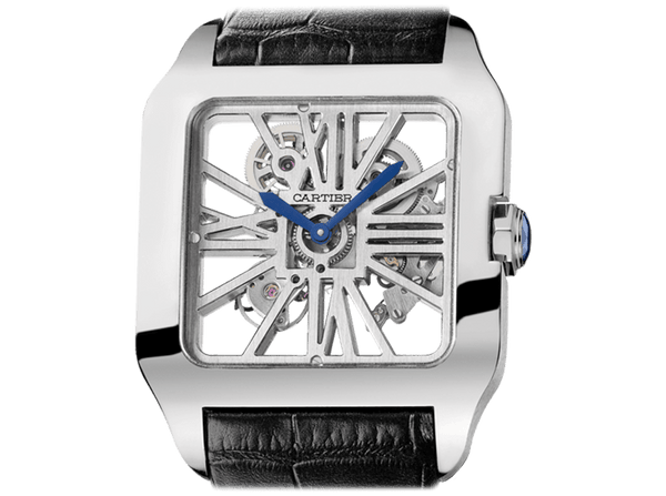 Buy original Cartier SANTOS-DUMONT SKELETON W2020033 with Bitcoins!