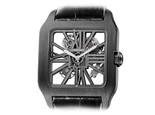 Buy original Cartier SANTOS-DUMONT SKELETON W2020052 with Bitcoins!