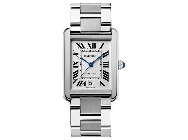 Buy original Cartier TANK SOLO WATCH  W5200028 with Bitcoins!