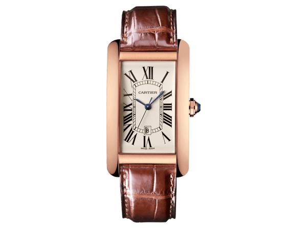 Buy original Cartier TANK AMÉRICAINE W2609156 with Bitcoins!
