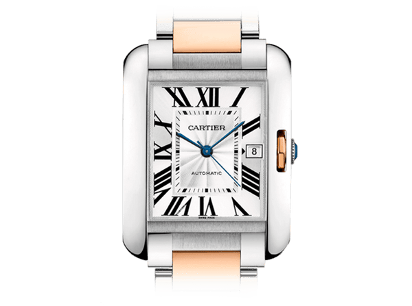 Buy original Cartier TANK ANGLAISE W5310006 with Bitcoins!