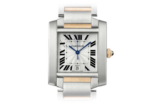 Buy original Cartier TANK FRANCAISE W51005Q4 with Bitcoins!