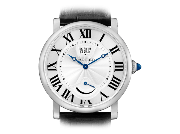 Buy original Cartier Rotonde de Cartier with Bitcoin!