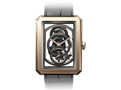 Buy original Chanel BOY-FRIEND SKELETON H6594 with Bitcoins!