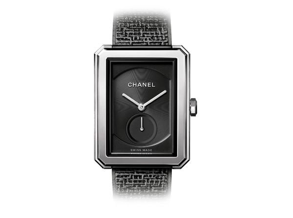 Buy original Chanel BOY-FRIEND TWEED H5201 with Bitcoins!