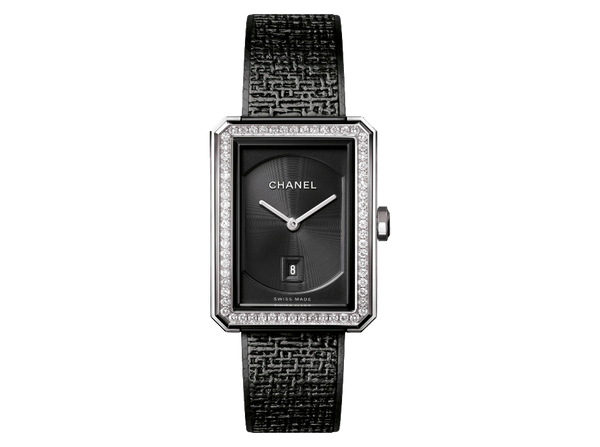 Buy original Chanel BOY-FRIEND TWEED H5318 with Bitcoins!