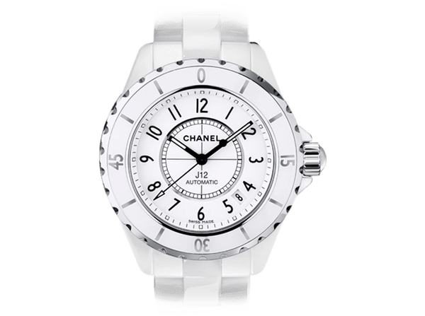 Buy original Chanel J12 White H0970 with Bitcoins!