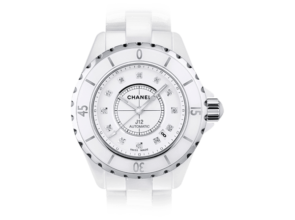 Buy Chanel J12 White H1629 Diamond with Bitcoins