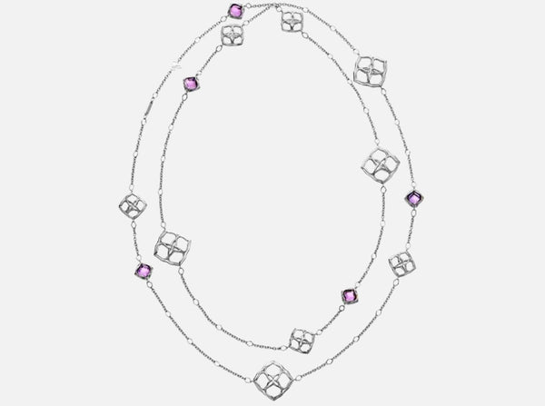 Buy original Chopard IMPERIALE LACE SAUTOIR NECKLACE 819564-1001 with Bitcoins!