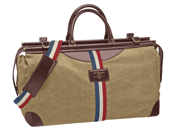 Buy original canvas bags S.T. Dupont Bogie Duffle Bag 191300 with Bitcoin!
