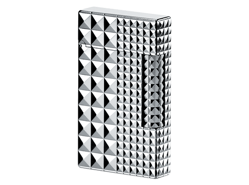 Buy original lighters S.T. Dupont Ligne 2 palladium finish lighter grey 016066 with Bitcoin!