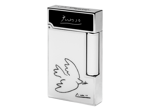 Buy original lighters S.T. Dupont Ligne 2 Picasso Dove 016268 with Bitcoin!