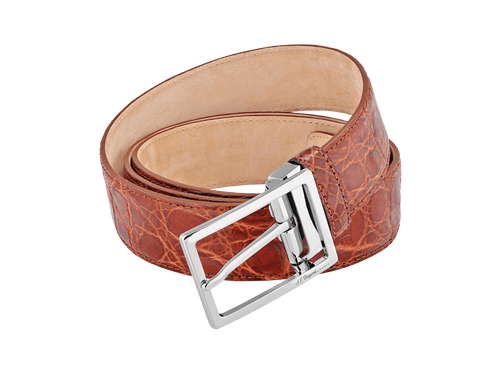 Buy original leather belts S.T. Dupont 056142 with Bitcoin!