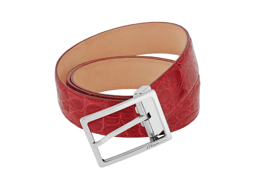 Buy original leather belts S.T. Dupont 056146 with Bitcoin!