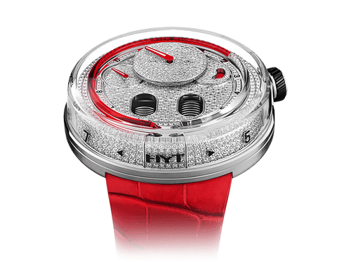 Buy original HYT H0 Diamond Red 048-AC-86-RF-CR with Bitcoins!
