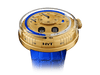 Buy original HYT H0 Gold Blue 048-GD-94-BF-CR with Bitcoins!