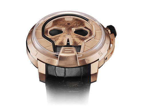 Buy original HYT Skull 48.8 Gold S48-PG-57-NF-RF with Bitcoins!
