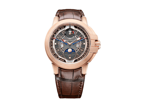 Buy original Harry Winston Ocean Biretrograde Perpetual Calendar Automatic OCEAPC42RR001 with Bitcoins!