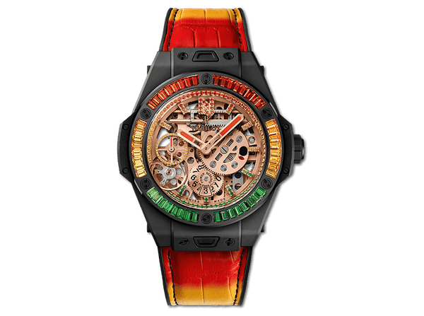 "Buy original Hublot BIG BANG MECA-10 ""NICKY JAM"" CERAMIC ""X"" SETTING 414.CI.4010.LR.4096.NJA19 with Bitcoins!"