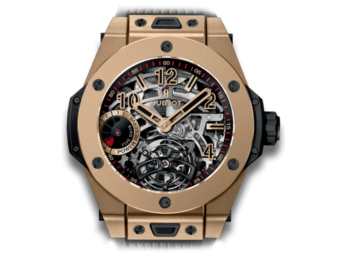 Buy original Hublot Big Bang Tourbillon Power Reserve 5 Days 405.MX.0138.RX with Bitcoins!