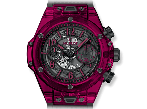 Buy original Hublot BIG BANG UNICO RED SAPPHIRE 411.JR.4901.RT with Bitcoins!