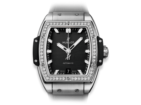 Buy original Hublot Spirit Of Big Bang Titanium Diamonds 665.NX.1170.RX.1204 with Bitcoins!