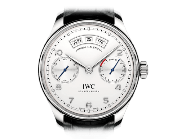 Buy original IWC PORTUGIESER ANNUAL CALENDAR IW503501 Bitcoins!