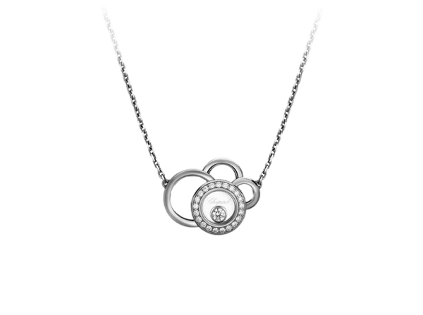 Buy original Chopard HAPPY DREAMS NECKLACE 819769-1002 with Bitcoins!