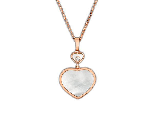 Buy original Chopard HAPPY HEARTS PENDANT 797482-5301 with Bitcoins!