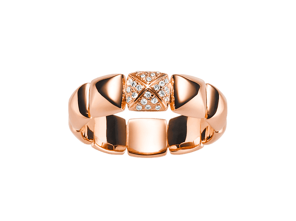 Buy original Jewelry Stoess Cascade RING 610082100011 with Bitcoins!
