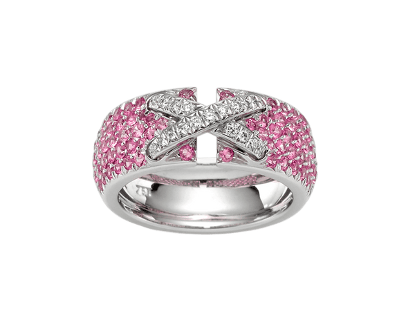 Buy original Jewelry Stoess Crossover RING 510557030011 with Bitcoins!