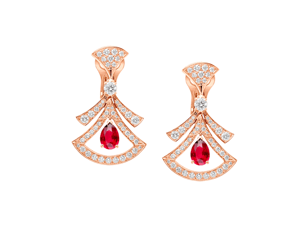 Buy original Jewelry Bvlgari Divas' Dream Earrings 356954 with Bitcoins!